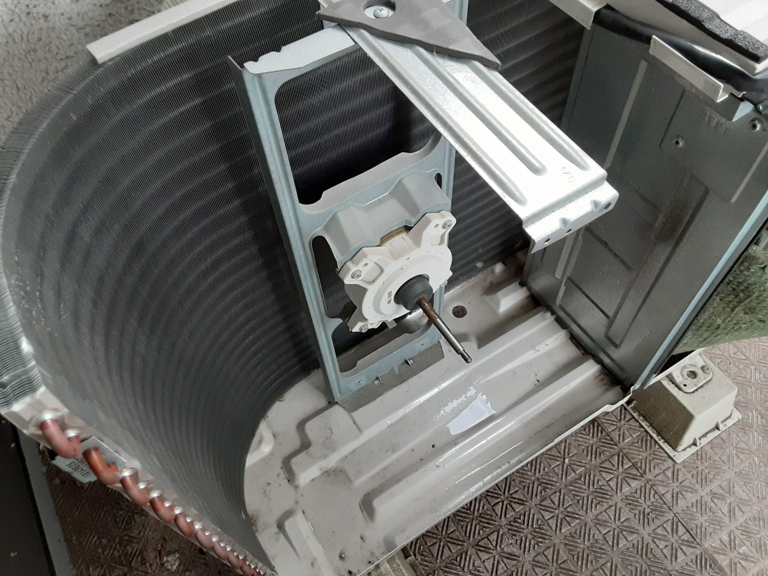 エアコンクリーニング施工写真