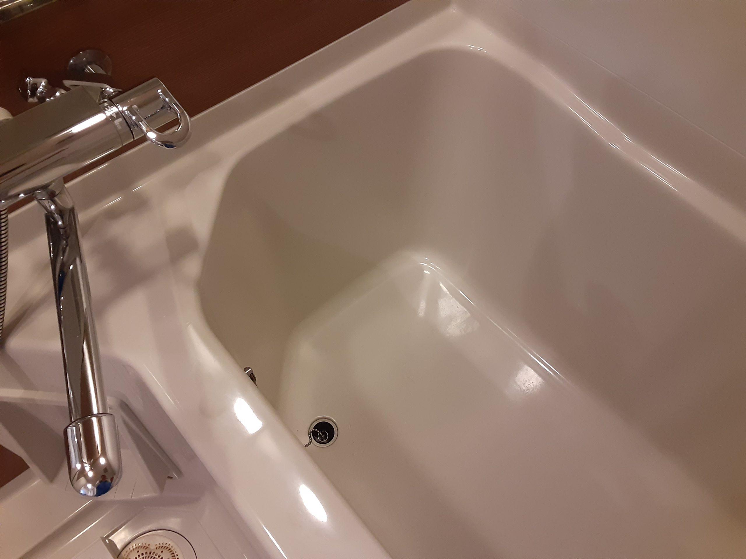 いい部屋おそうじPROのお風呂うりーニングビフォーアフター