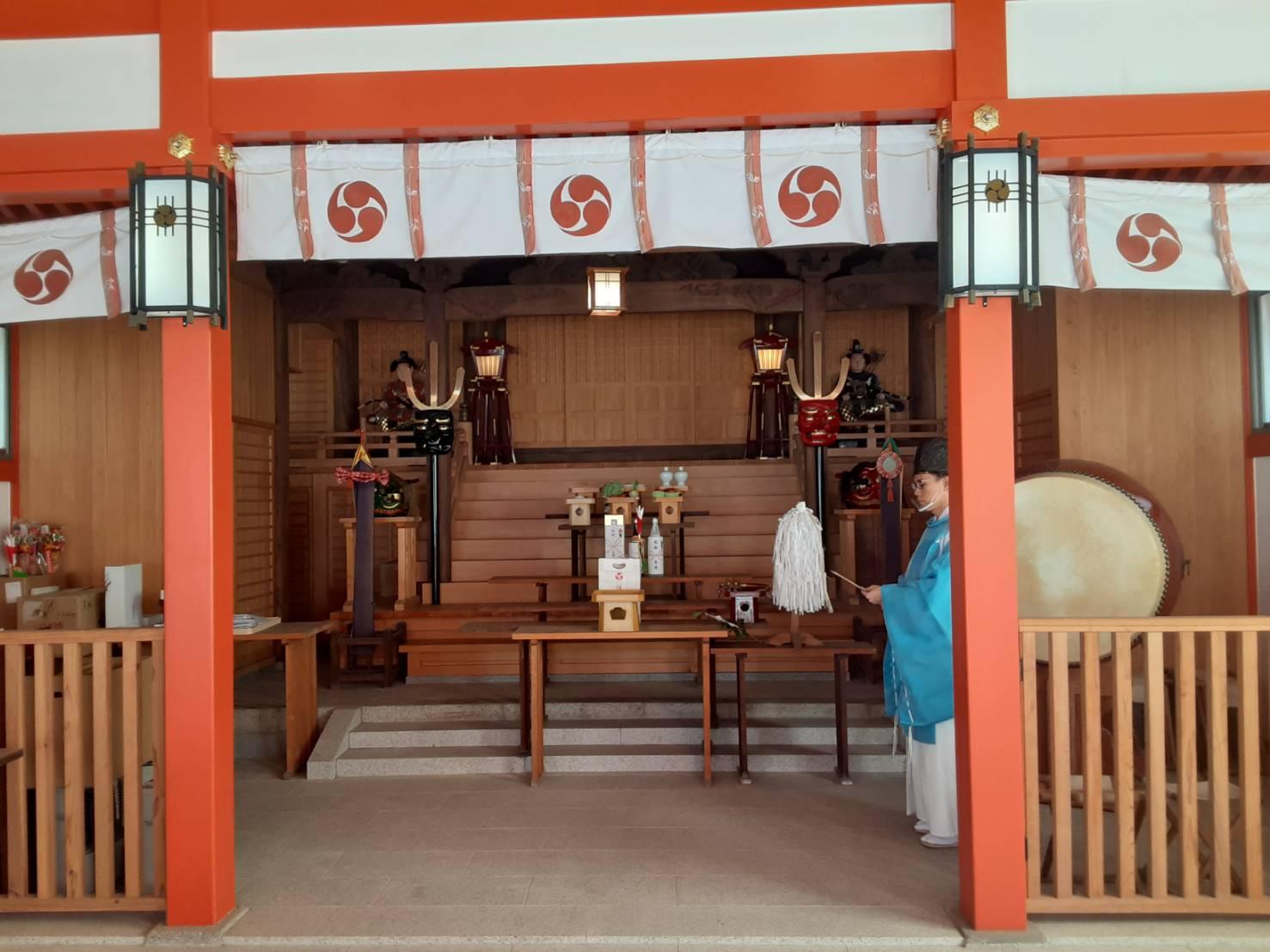 福岡市西区の姪浜住吉神社