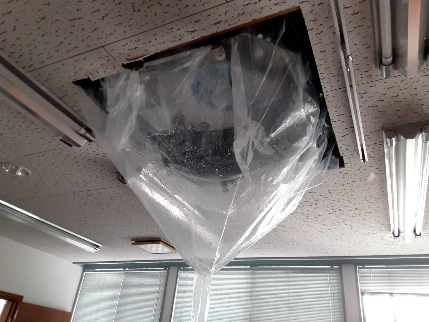 業務用埋め込み式エアコンクリーニング