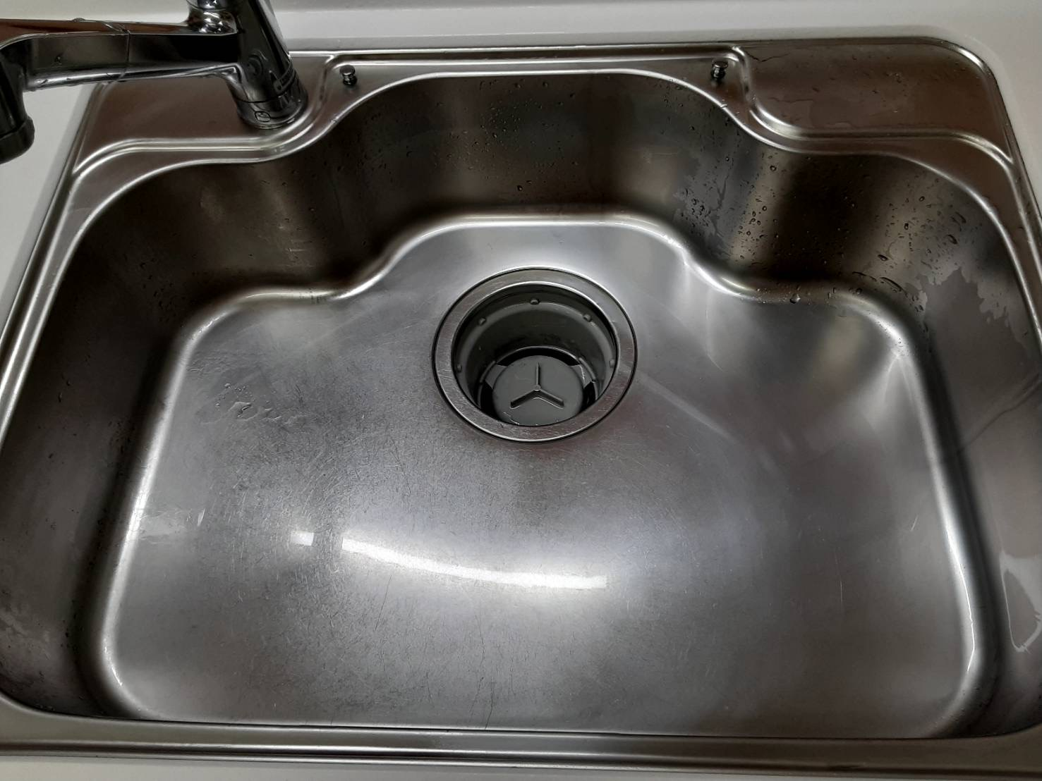 キッチンシンク撥水クリーニング